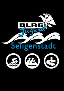 Aufdruck hinten (DLRG-Jugend Seligenstadt)