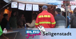 Adventsmarkt Seligenstadt DLRG Stand
