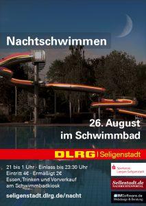 3 nachtschwimmen der dlrg seligenstadt mit bernachtung for Seligenstadt schwimmbad